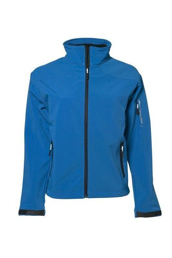 NAISTEN STRETCH SOFTSHELL TAKKI BRILLIANT BLUE TEE JAYS T9565