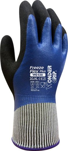 Wonder Grip Freeze Flex Plus suojakäsine - 538 (12 paria/nippu)